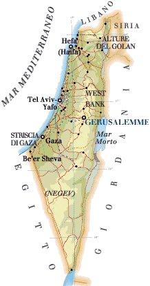 Cartina Fisica Dell Israele.Karismatravel Israele Informazioni Utili